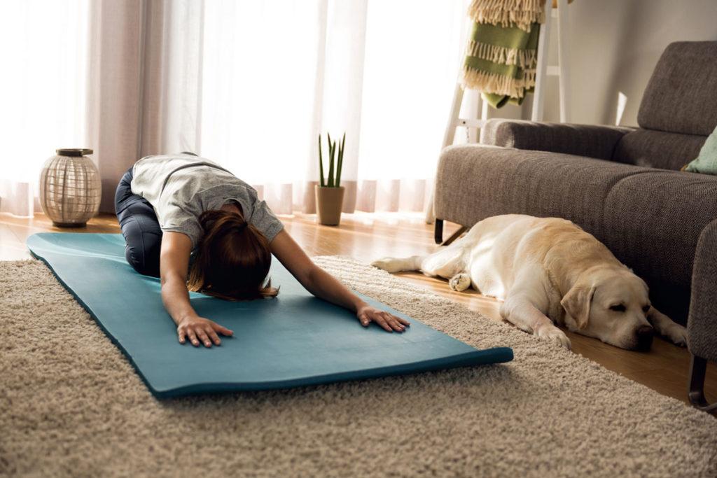 yoga-with-dog